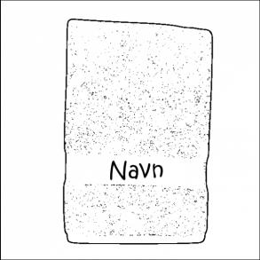 Håndklæde med navn