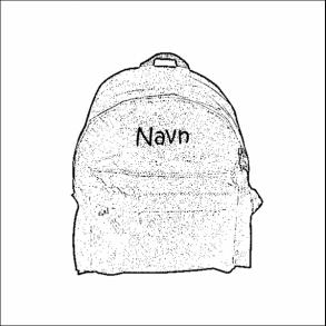 Taske med navn